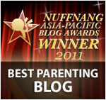 Best Parenting Blog Award 2011