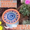 Thumbnail image for Family Weekend Project: How to Make a Bird Bath