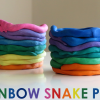 Thumbnail image for Kids Art: Rainbow Snake Pots