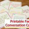Thumbnail image for Printable Family Conversation Cards