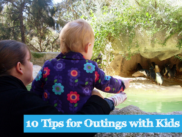 10 Tips for Outings with Kids via Childhood 101