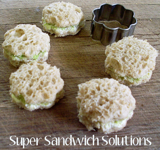 Simple sandwich solutions
