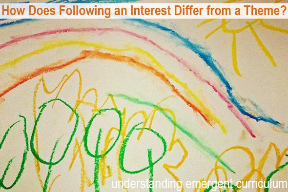 Childhood 101 | Understanding Emergent Curriculum - How Does Following an Interest Differ From a Theme