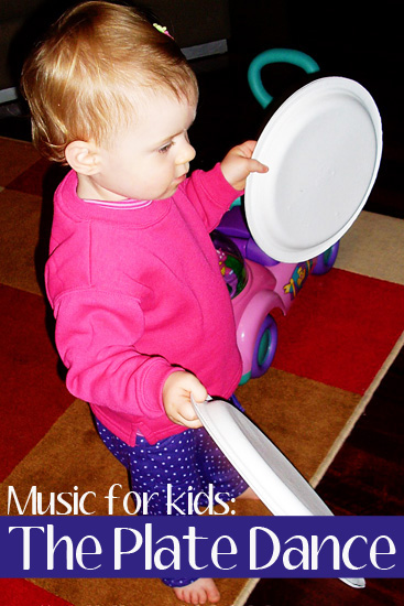 Easy Percussion Instruments for Kids: The Plate Dance