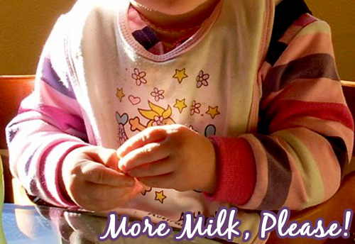 Baby Sign Language: More Milk, Please!