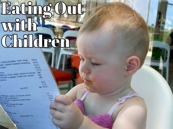 Tips for eating out with children