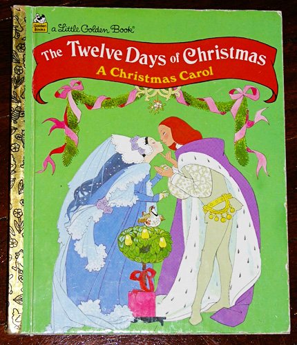 12 days of Christmas garland bunting