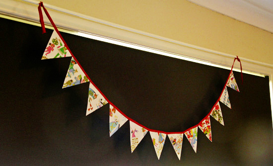 12 days of Christmas garland bunting