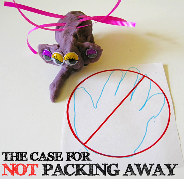 Childhood 101 - The Case for NOT Packing Away
