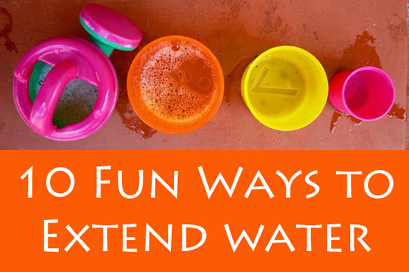 10 Easy Ways to Extend Water Play