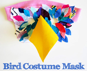 Bird Costume Mask small