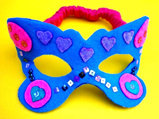 Butterfly costume felt mask | Childhood 101