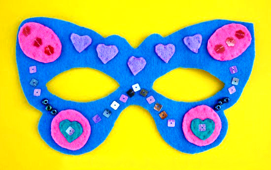 Butterfly costume mask | Childhood 101