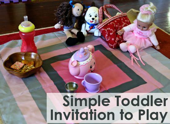 Childhood 101 invitation to play