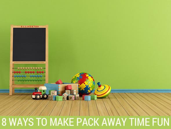 Making Pack Away Time Fun