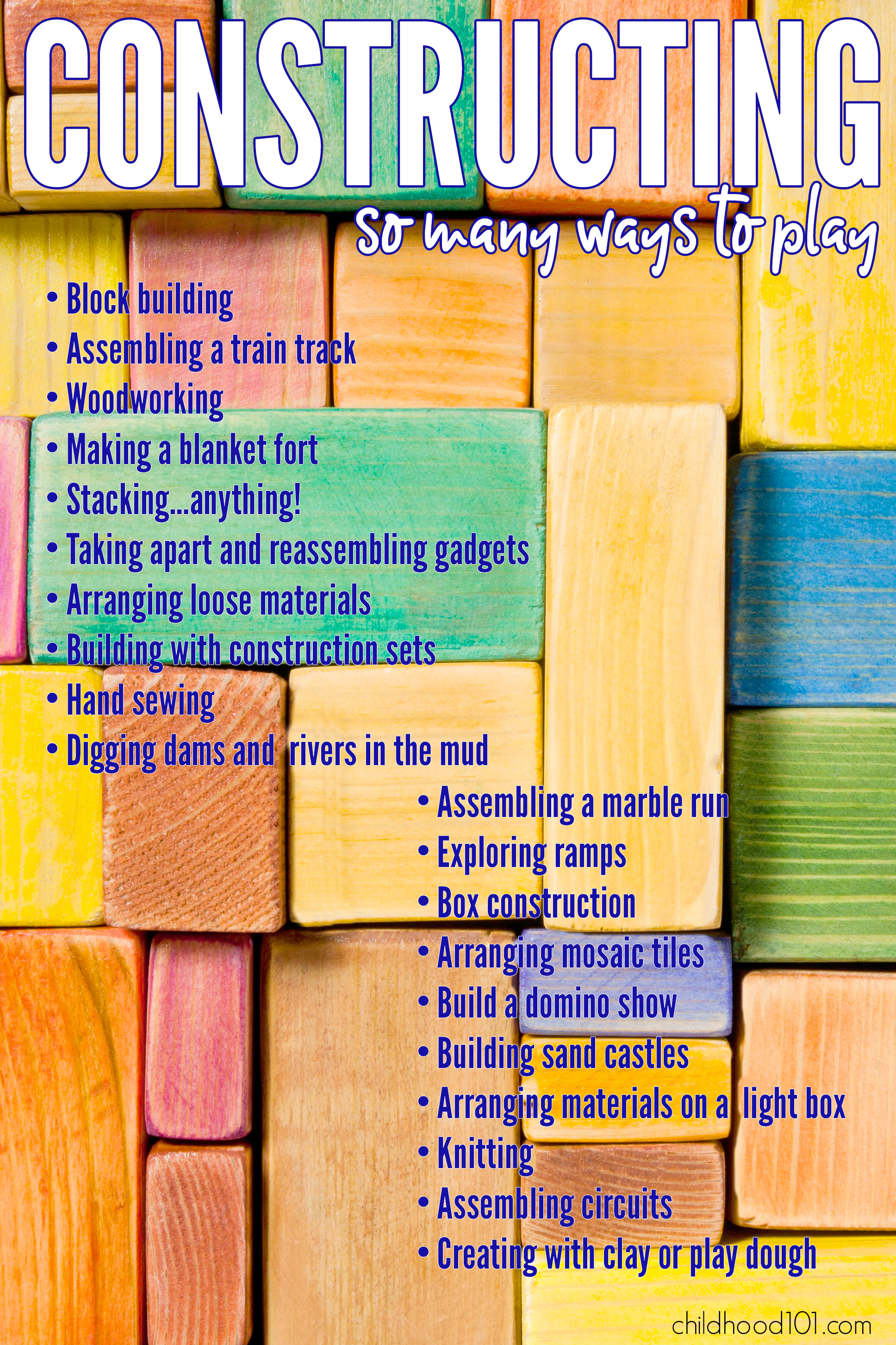 Constructing play ideas