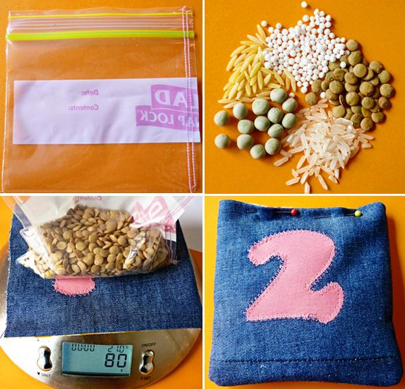 bean bag tutorial