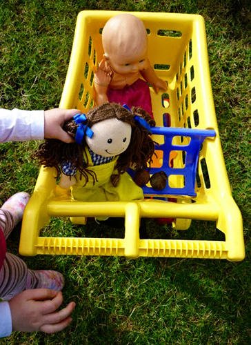 Childhood 101 | Turning Inside Out Simple Outdoor Play Ideas