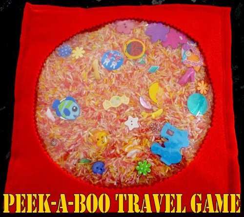 DIY Kids: Make Your Own Travel Peekaboo Game