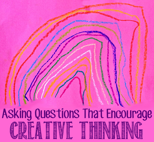 Asking questions that encourage creative thinking