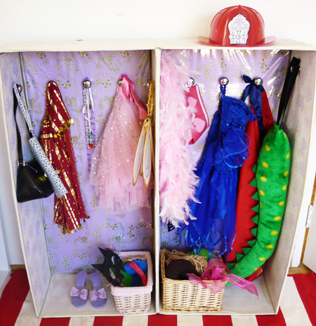 Post image for DIY Kids: Dress Up Wardrobe