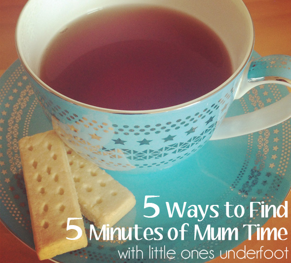 5 Ways to Find 5 Minutes of Mum: Preschool Activity Ideas