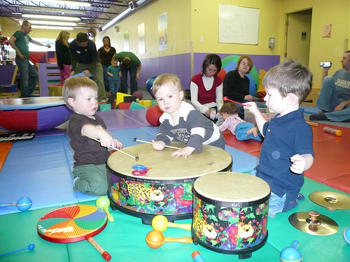 The Little Drummer: Drumming with Preschoolers