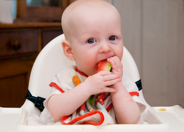 Introducing Solids: What Simply Works for Us