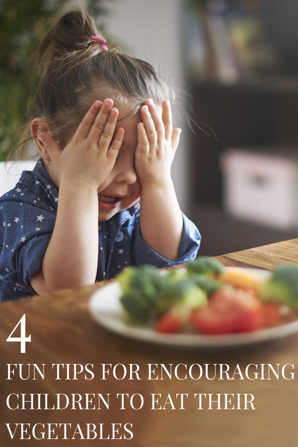 4 Fun Tips for Encouraging Children to Eat Vegetables