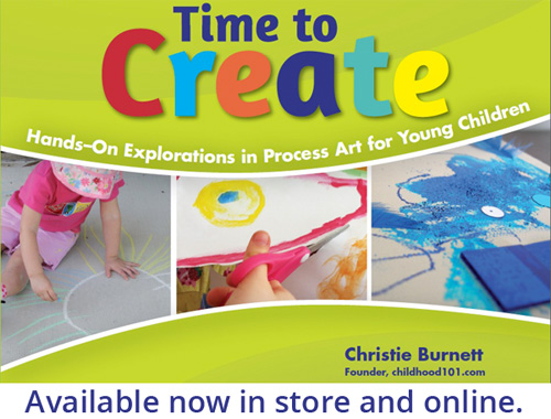 Time to Create:Hands On Exploraitons in Process Art by Christie Burnett
