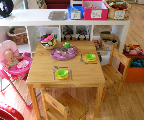 Dramatic Play Kitchen Ideas