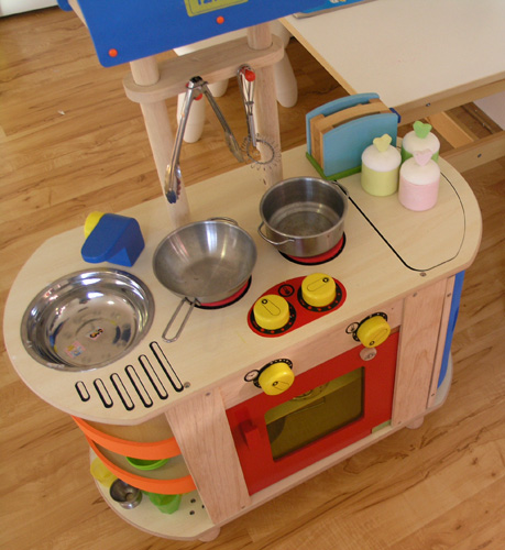 Dramatic Play in Our Home Corner Play Space Childhood101 : kitchen from childhood101.com size 459 x 500 jpeg 115kB