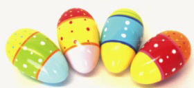 Giving Musical Eggs Instead of Chocolate This Easter!