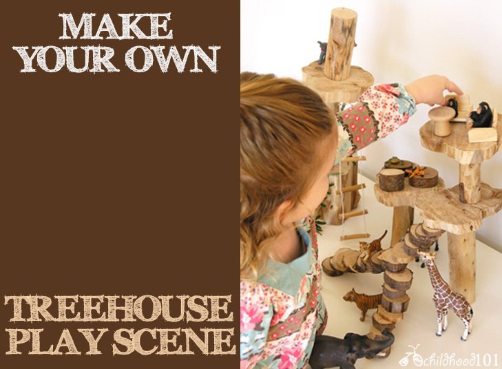 Make Your Own Treehouse Play Scene