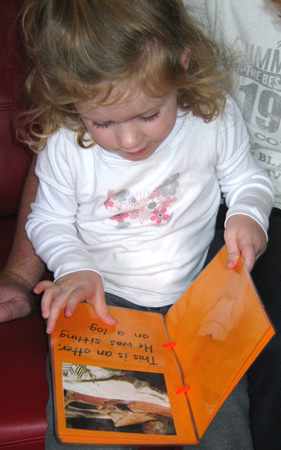 Making photo books with kids