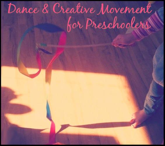 Dance Creative Movement For Preschoolers