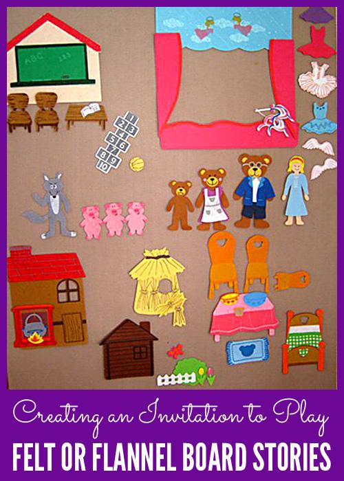 Felt board and flannel board stories
