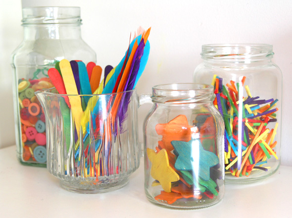 storing art materials