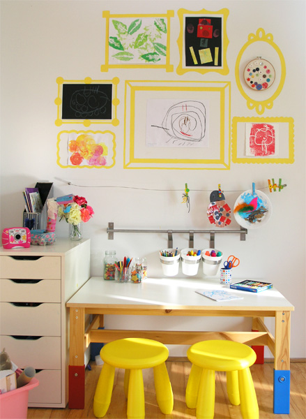 Kids Art Space Updated