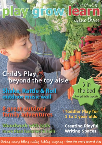Fabulous play based magazine for parents and teachers