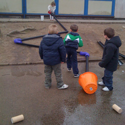 Outdoor play ideas