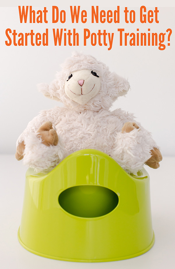 potty training equipment list