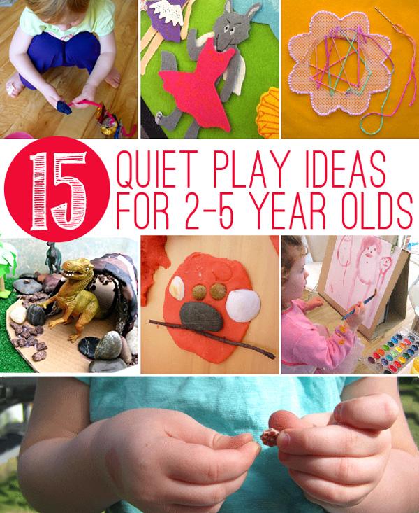 15 Quiet Play Activities For Toddlers Preschoolers