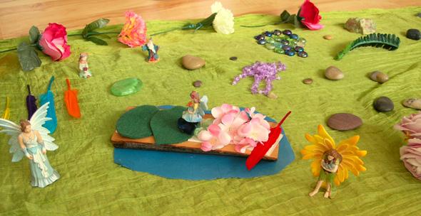 fairy play scene