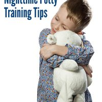 Nighttime Potty Training Tips