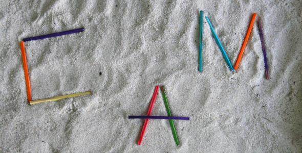 sand tray activities