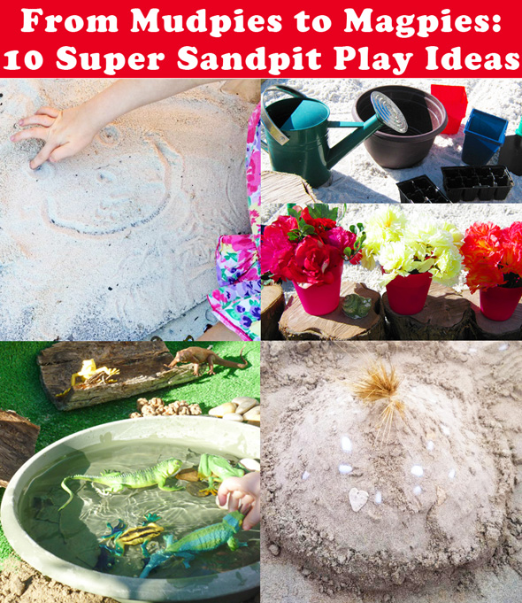 10 Super Sandpit Play Ideas - Childhood101