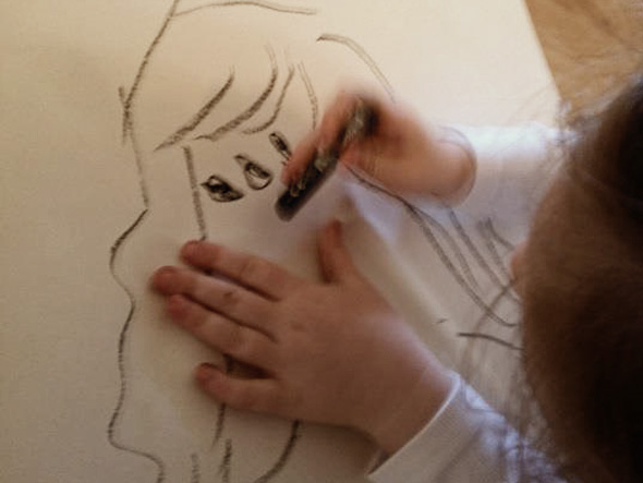Kids Art 5 Ways With Body Outlines