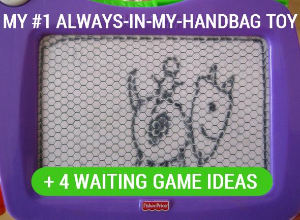 My #1 Always-in-my-Handbag Waiting Game