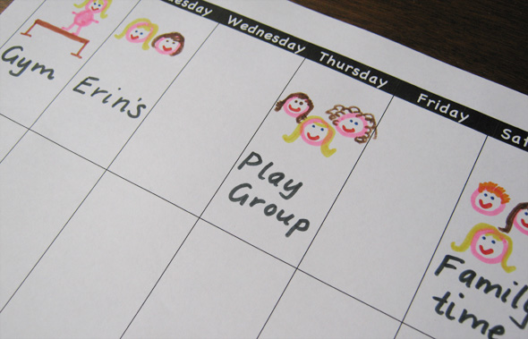 Literacy Spot #45: Visual Schedules